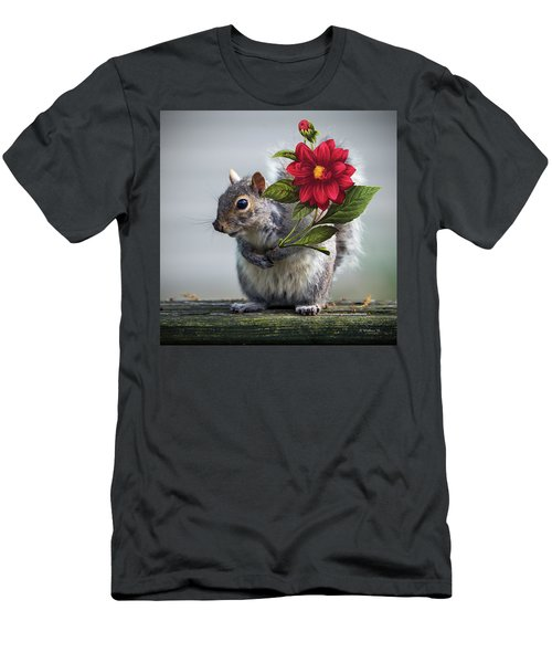 Flowers For You Men's T-Shirt (Slim Fit) by Brian Wallace