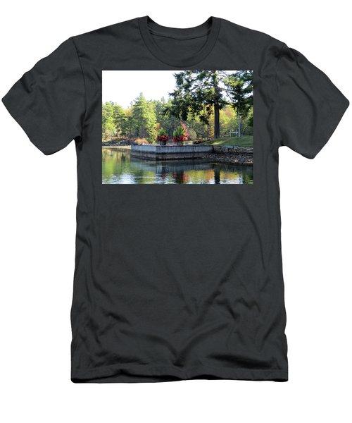 Flowers On The Rift Men's T-Shirt (Athletic Fit)