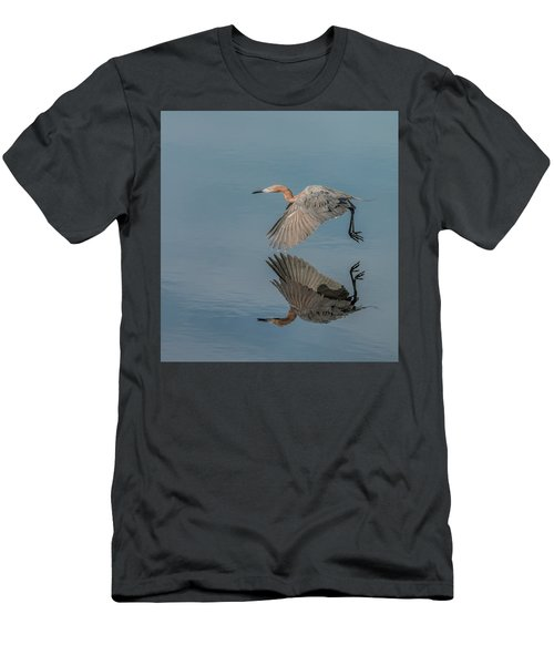 Fly By Reflection Men's T-Shirt (Athletic Fit)