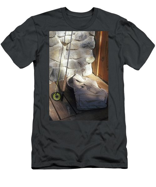 Fly Rod And Vest Men's T-Shirt (Athletic Fit)