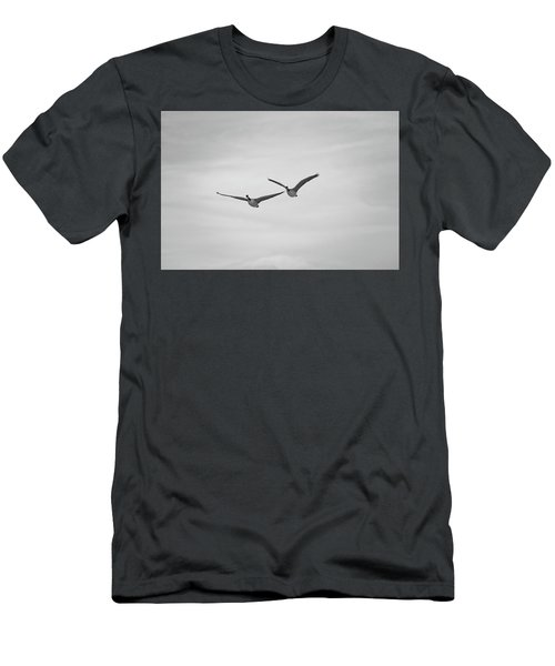 Flying Companions Men's T-Shirt (Athletic Fit)