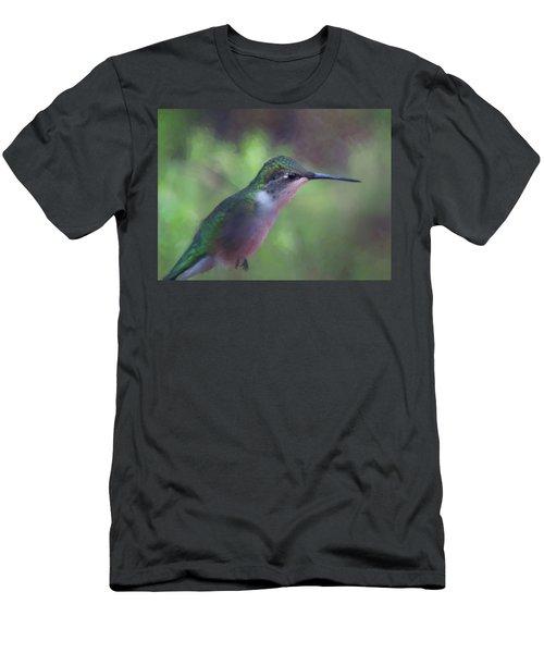 Flying Flower Men's T-Shirt (Athletic Fit)