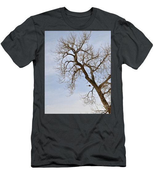 Flying Goose By Great Tree Men's T-Shirt (Athletic Fit)