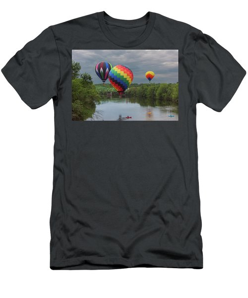 Flying Over The Androscoggin Men's T-Shirt (Athletic Fit)