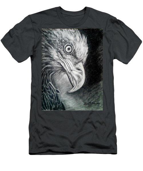 Focus  - Eagle Portrait Men's T-Shirt (Athletic Fit)