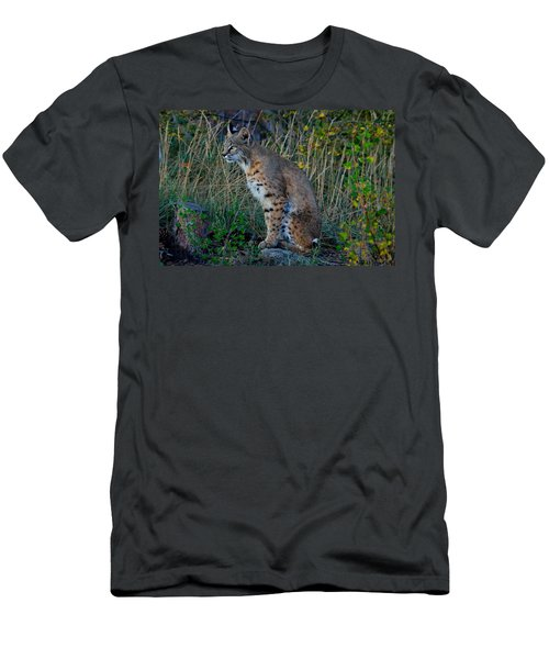 Focused On The Hunt Men's T-Shirt (Athletic Fit)