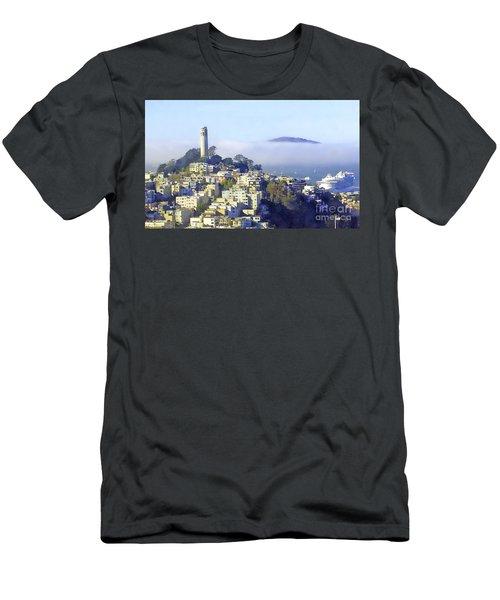 Fog Rolling In Men's T-Shirt (Athletic Fit)