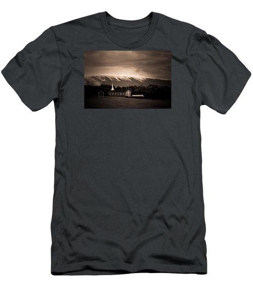 Fog Tendrils Men's T-Shirt (Slim Fit) by Carlee Ojeda