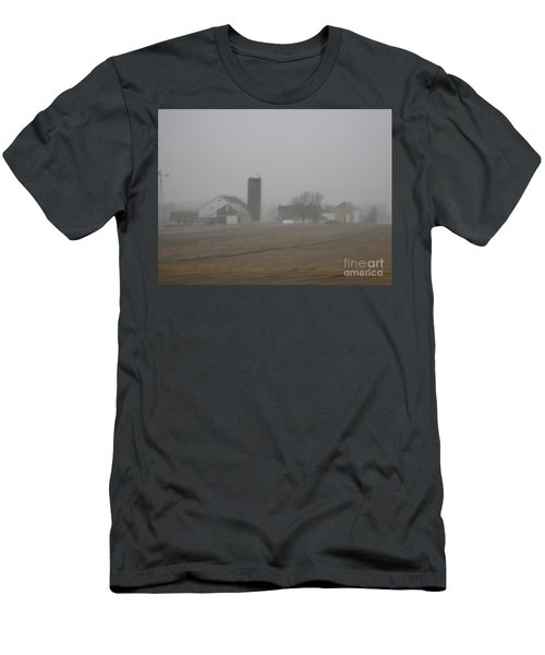 Foggy Evening Men's T-Shirt (Athletic Fit)