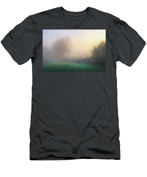 Foggy Morning Men's T-Shirt (Slim Fit) by Dan Jurak