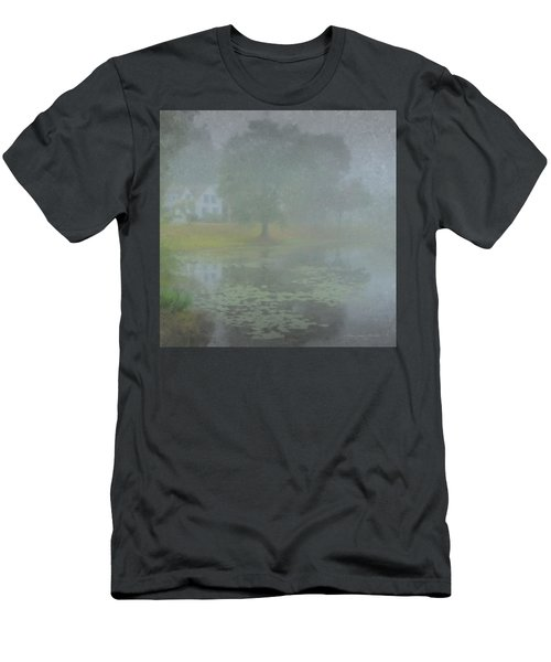 Foggy Morning On Pond Street Men's T-Shirt (Athletic Fit)