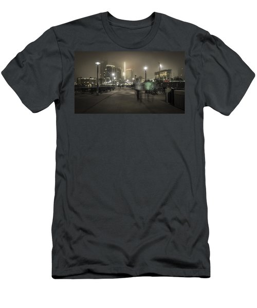 Foggy Morning Men's T-Shirt (Athletic Fit)