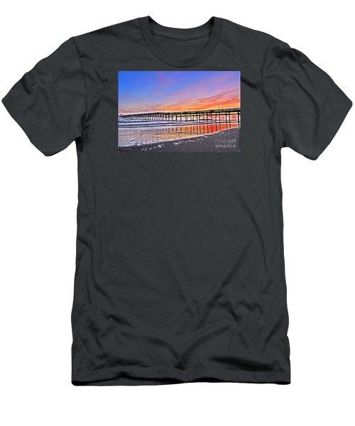 Foggy Sunset Men's T-Shirt (Slim Fit) by Shelia Kempf