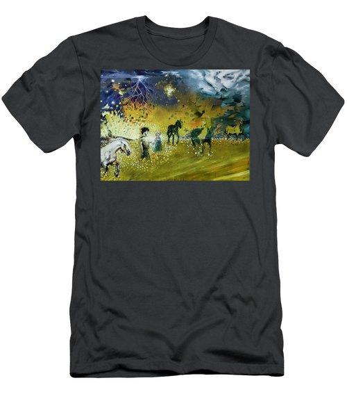 Following Esme Men's T-Shirt (Athletic Fit)