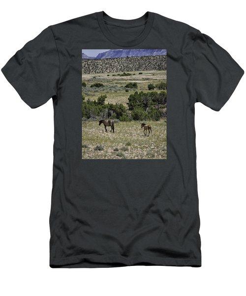 Following Momma Men's T-Shirt (Slim Fit) by Elizabeth Eldridge