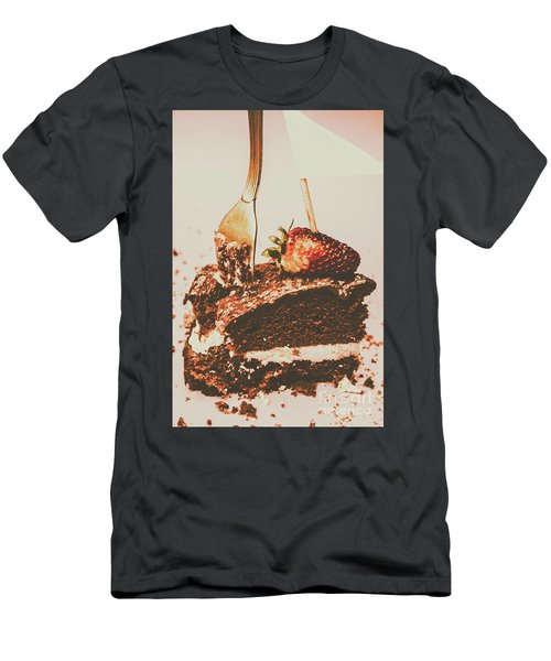 Food Nostalgia Men's T-Shirt (Athletic Fit)