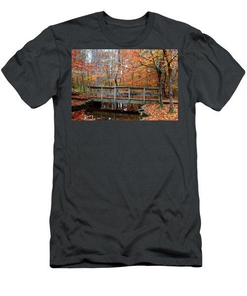 Foot Bridge Men's T-Shirt (Athletic Fit)