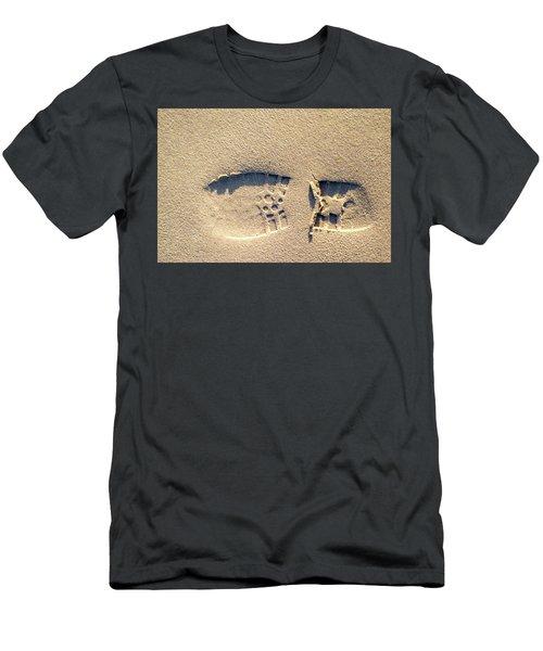 Foot Print Men's T-Shirt (Athletic Fit)