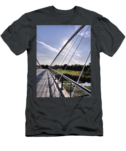 Footbridge 1 Men's T-Shirt (Athletic Fit)