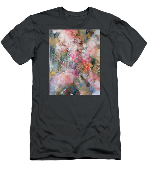 Footprints Men's T-Shirt (Athletic Fit)
