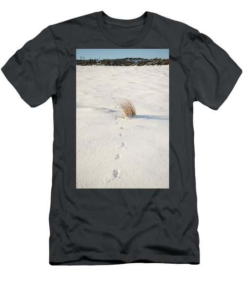Footprints In The Snow II Men's T-Shirt (Athletic Fit)