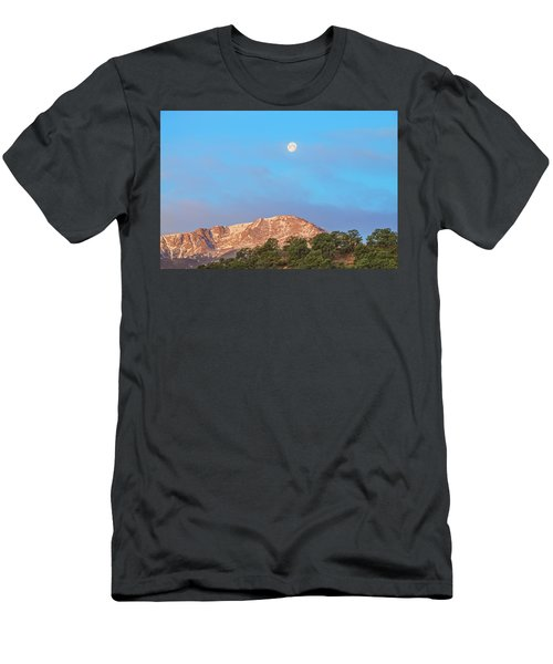 For God So Loved The World That He Created Mountains.  Men's T-Shirt (Athletic Fit)
