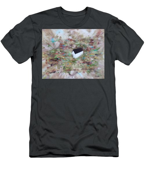 Men's T-Shirt (Athletic Fit) featuring the painting For Sheila by Judith Rhue