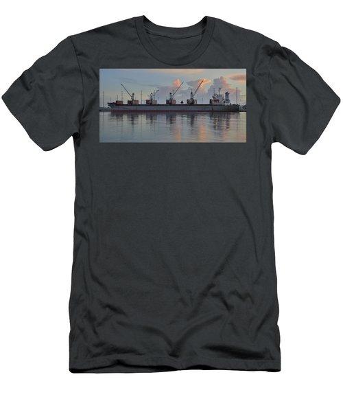 Force Ranger Loading At Dawn Men's T-Shirt (Athletic Fit)