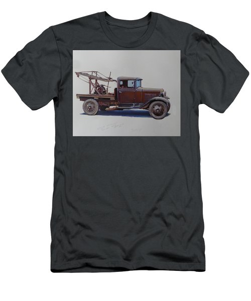 Ford A Type Wrecker. Men's T-Shirt (Slim Fit) by Mike  Jeffries