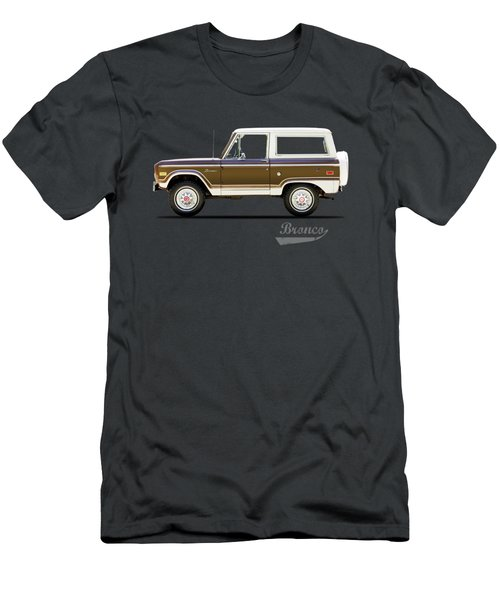 Ford Bronco Ranger 1976 Men's T-Shirt (Athletic Fit)