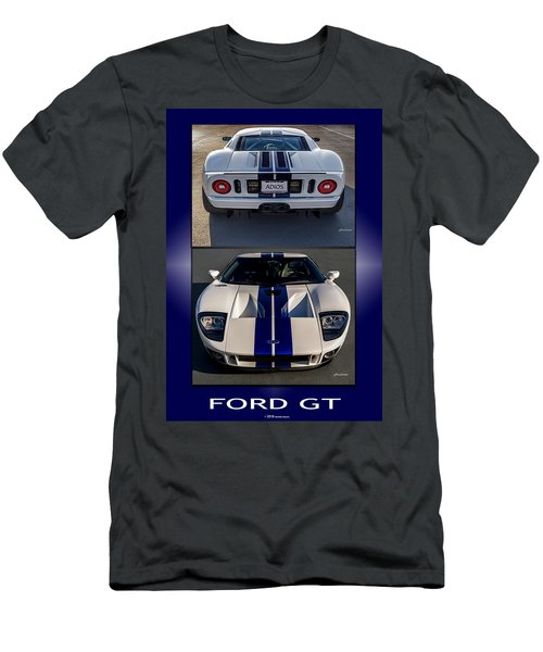 Ford Gt Men's T-Shirt (Athletic Fit)