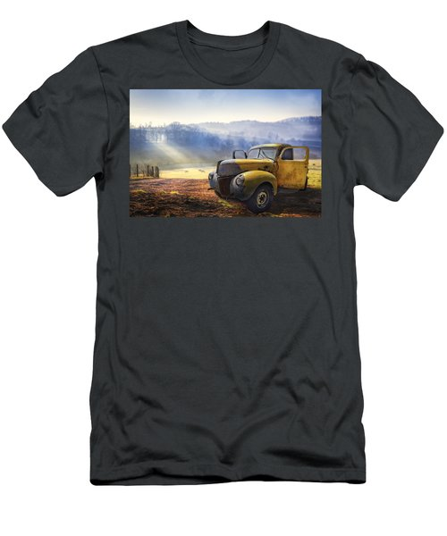 Ford In The Fog Men's T-Shirt (Athletic Fit)