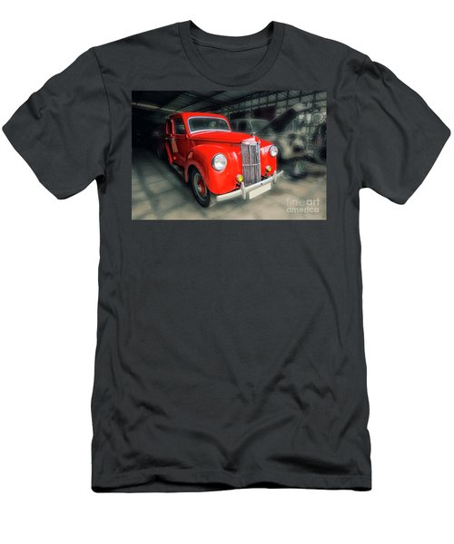 Men's T-Shirt (Slim Fit) featuring the photograph Ford Prefect by Charuhas Images