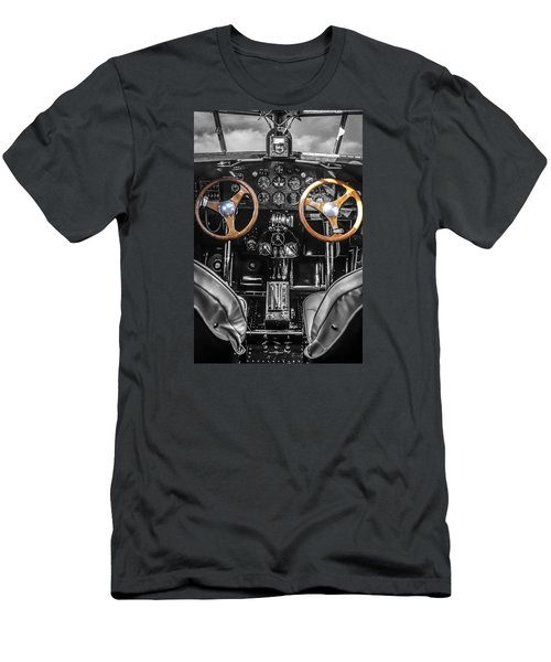 Ford Trimotor Cockpit Men's T-Shirt (Athletic Fit)