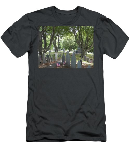 Forefathers' Cemetery Men's T-Shirt (Athletic Fit)