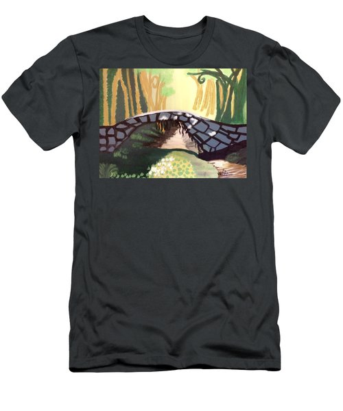 Forest Bridge Men's T-Shirt (Slim Fit)