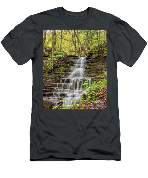 Forest Cascade Men's T-Shirt (Athletic Fit)