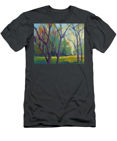 Forest In Spring Men's T-Shirt (Athletic Fit)