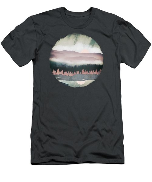 Forest Lake Evening Men's T-Shirt (Athletic Fit)