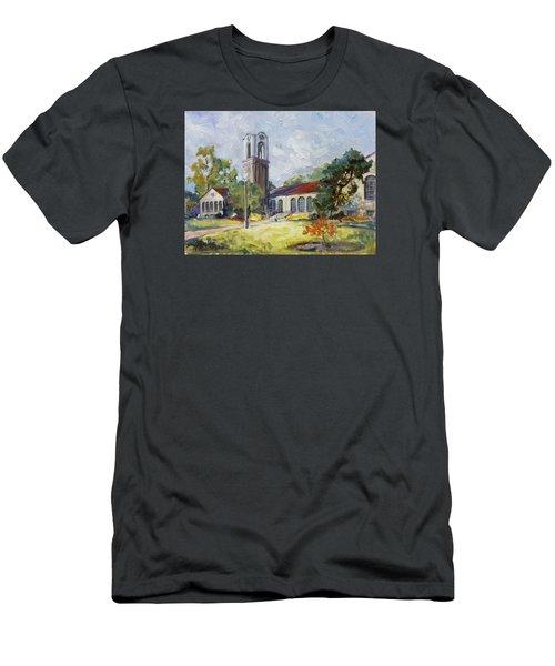 Forest Park Center - St. Louis Men's T-Shirt (Slim Fit) by Irek Szelag