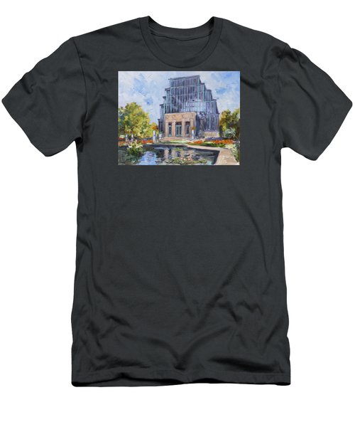 Forest Park - Jewel Box Saint Louis Men's T-Shirt (Slim Fit) by Irek Szelag