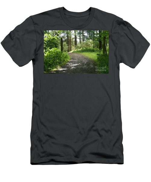 Forest Path. Men's T-Shirt (Athletic Fit)
