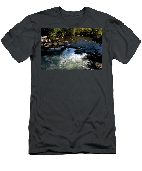 Forest Pool Men's T-Shirt (Athletic Fit)
