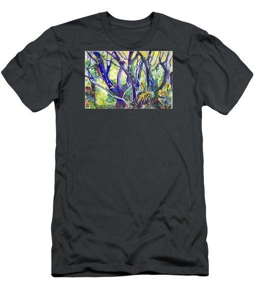 Forest Rainbow Men's T-Shirt (Athletic Fit)