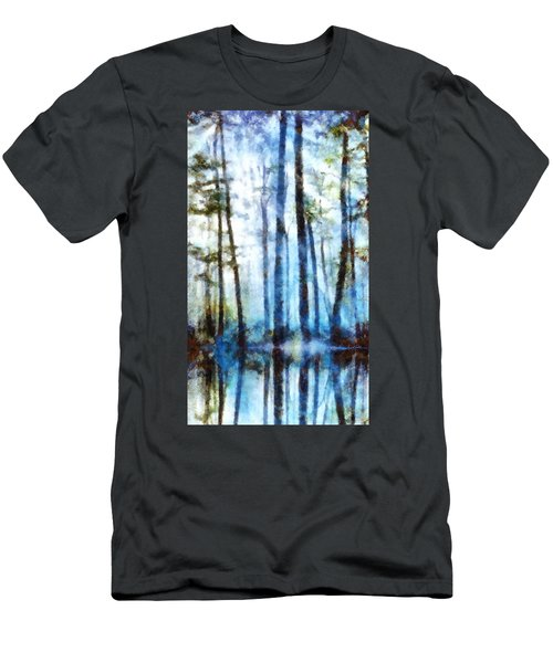 Forest Sentries In The Mist Men's T-Shirt (Athletic Fit)