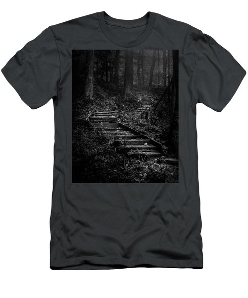 Forest Stairs Men's T-Shirt (Athletic Fit)