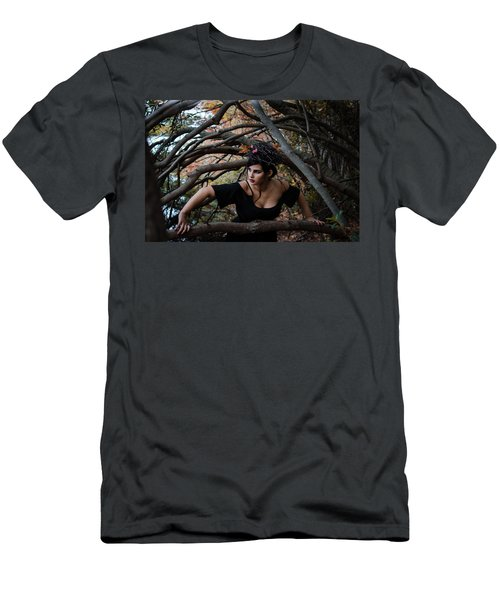Forest Witch Men's T-Shirt (Slim Fit)