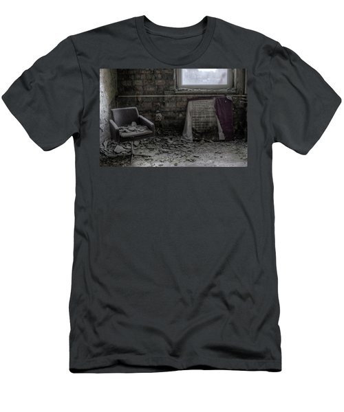 Men's T-Shirt (Slim Fit) featuring the digital art Forgotten Ideologies by Nathan Wright