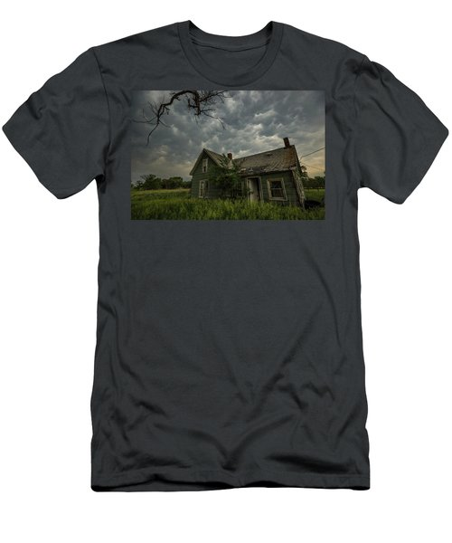 Men's T-Shirt (Athletic Fit) featuring the photograph Forgotten Mammatus  by Aaron J Groen