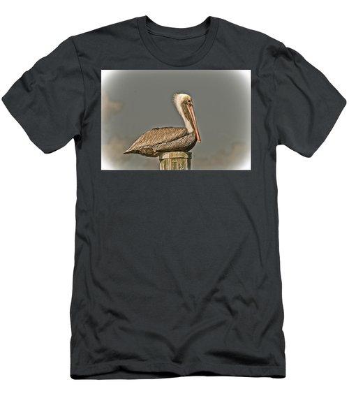 Fort Pierce Pelican Men's T-Shirt (Athletic Fit)
